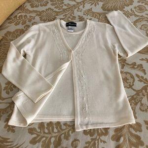 Sag Harbor Attached Sweater Set